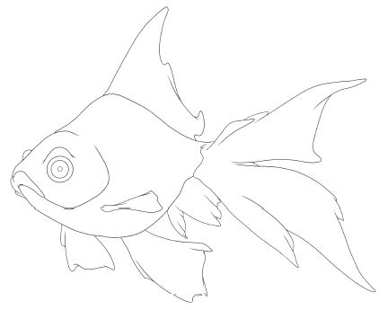 Friendly_Fishes_Lineart