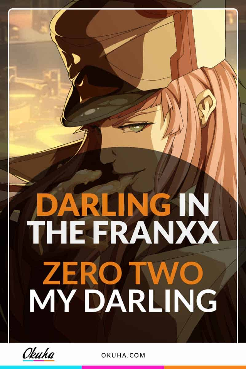 darling in the franxx zero two my darling