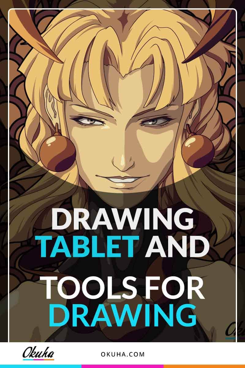 drawing tablet and tools for drawing