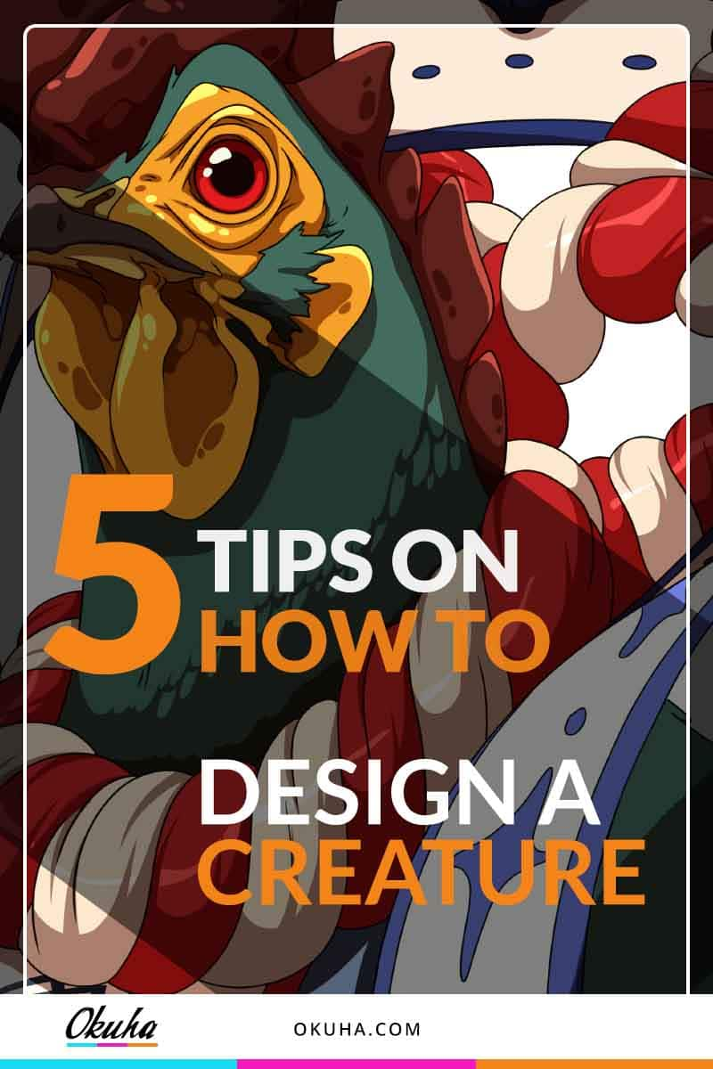 5 tips on how to design a creature pinterest