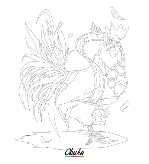 Creature Champion Lineart 1st - 5 tips on how to design a creature