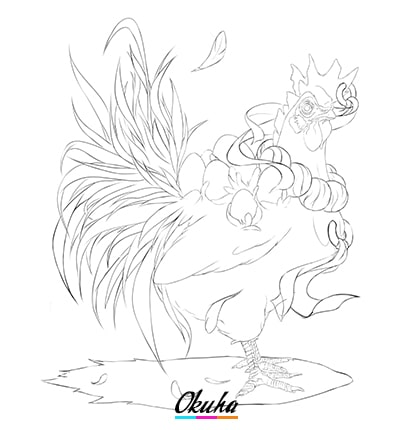 Creature Sketch Improved - 5 tips on how to design a creature
