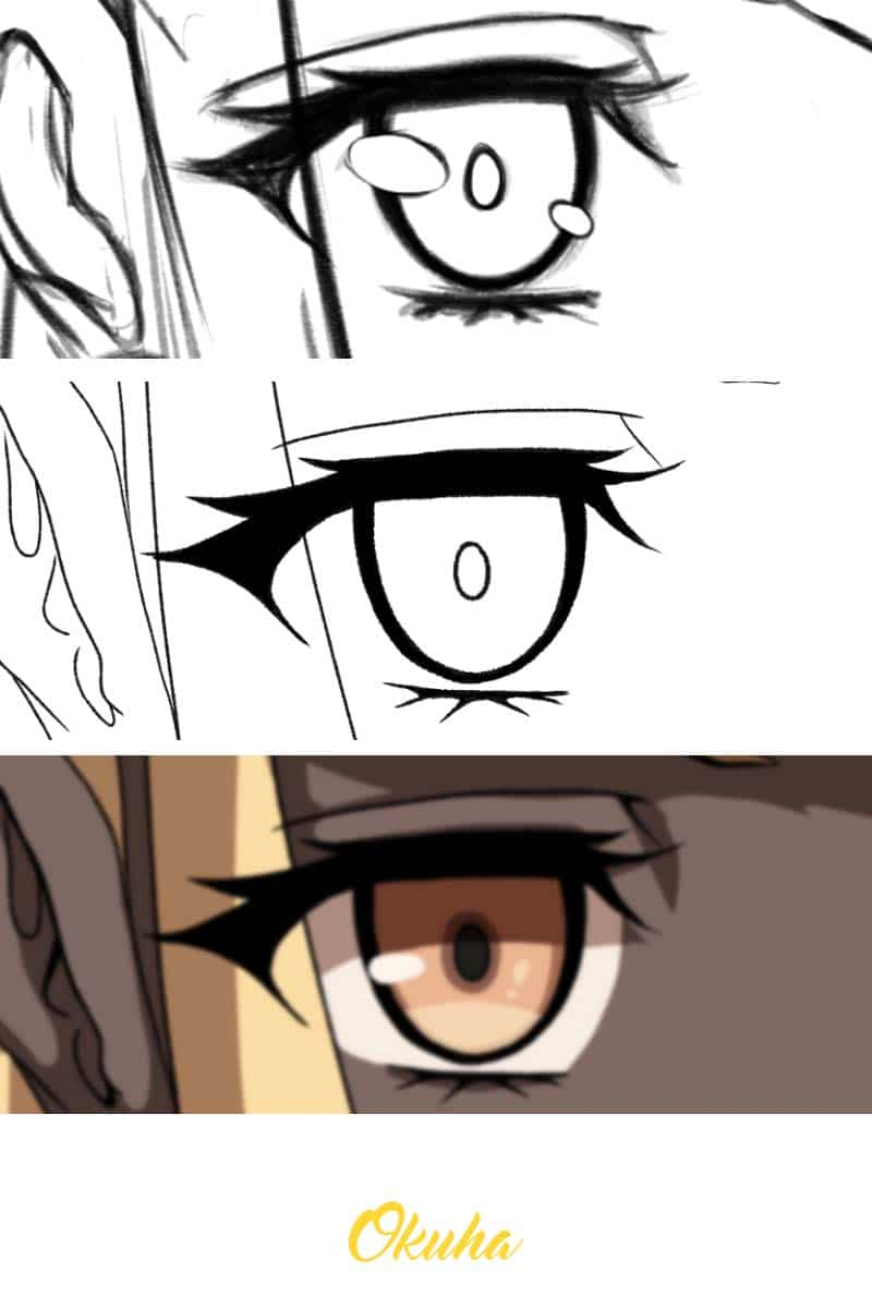 Drawing_Anime_and_manga_how_to_guide_beginners_advanced_eye_close_up