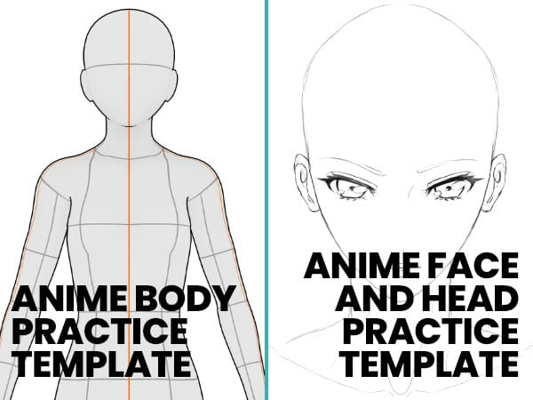FREE_resources_section_anime_body_face_templates