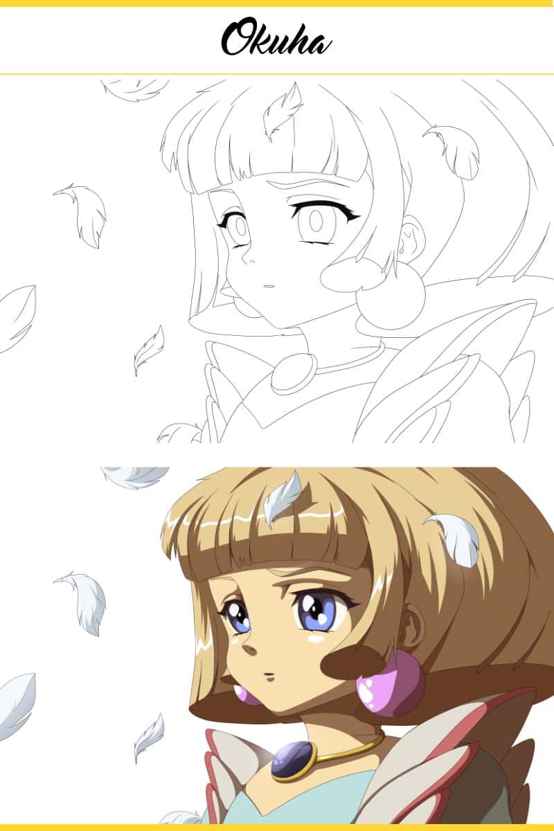 how_to_draw_cute_anime_girl_longing_gaze