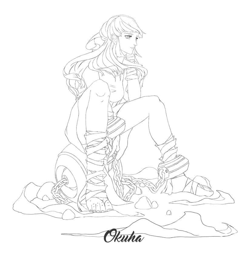 Alisha_anime_sketch_how_to_draw_anime_characters