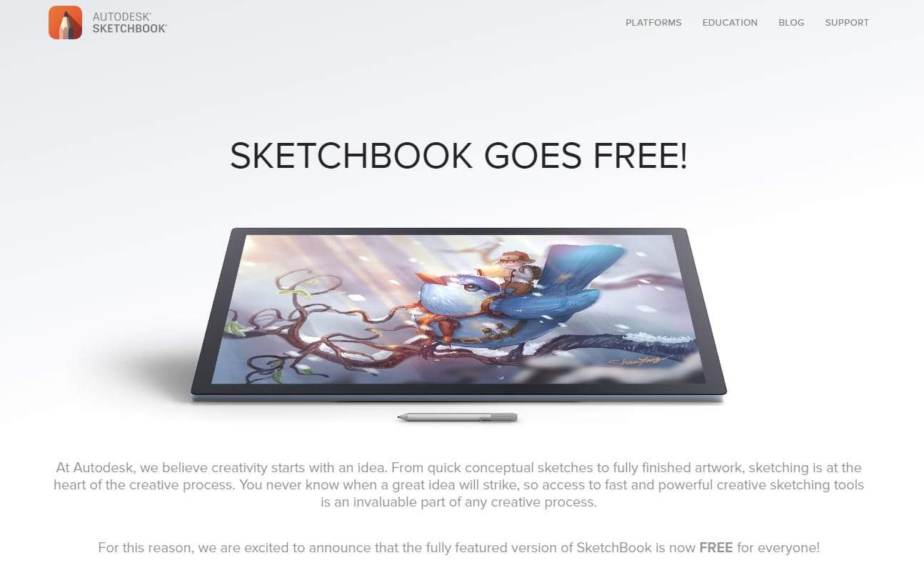 autodesk_sketchbook_art_software_review_drawing_anime_and_manga