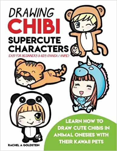 Drawing Chibi Supercute Characters Easy for Beginners & Kids