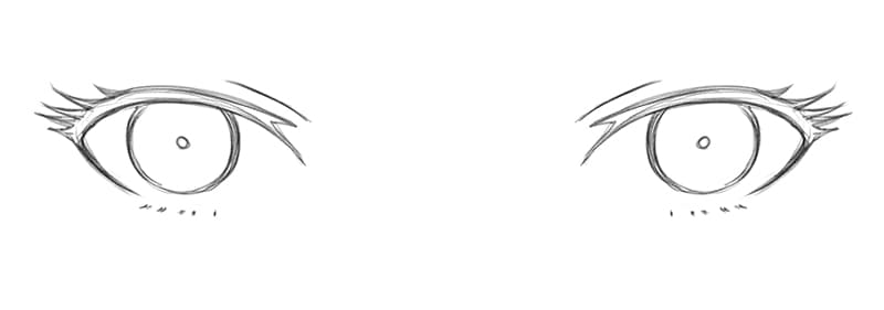 How_To_Draw_Female_Anime_Eyes_Step_2