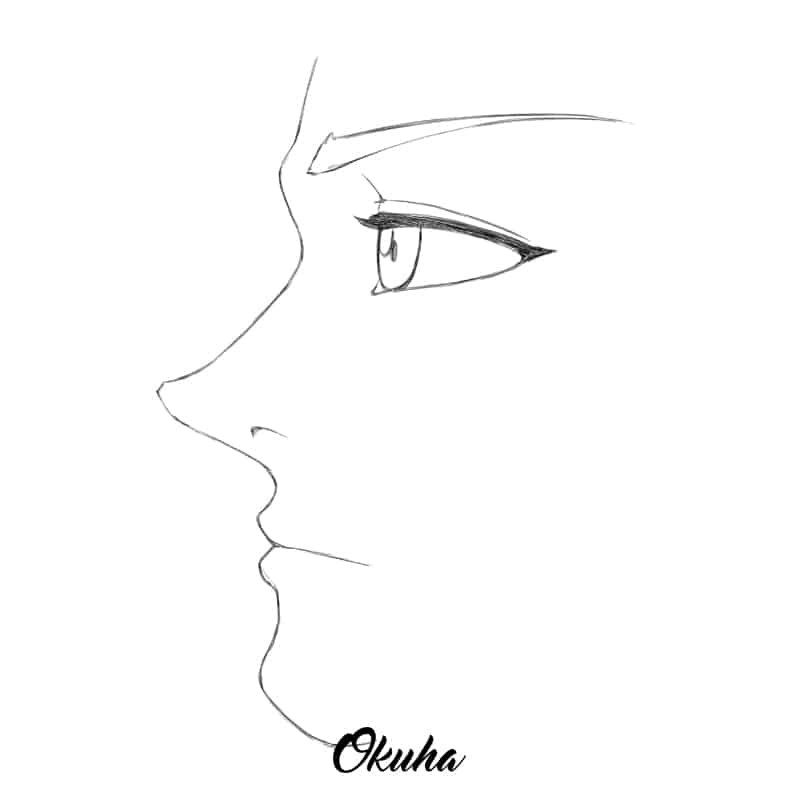 how_to_draw_anime_face_profile_view_step_4.0