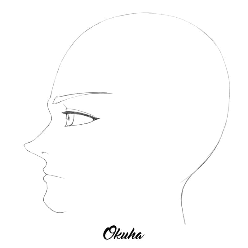 how_to_draw_anime_face_profile_view_step_5.0