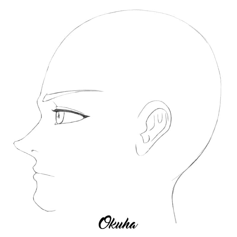 how_to_draw_anime_face_profile_view_step_6.0
