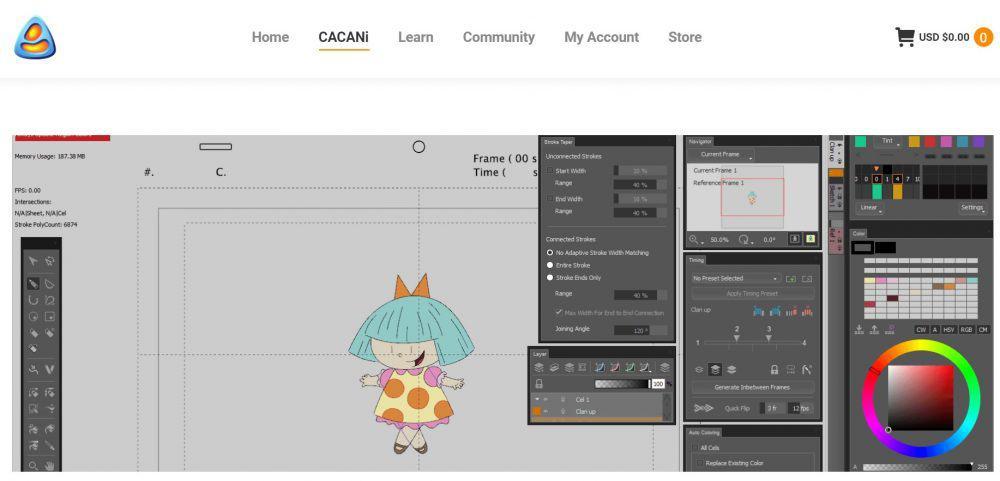 anime_software_cacani