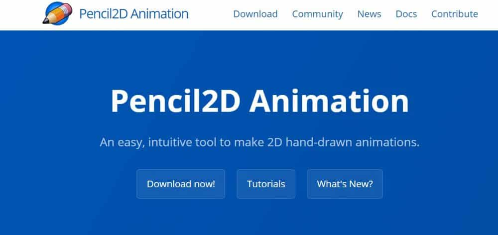 free_art_software_for_artists_Pencil_2D