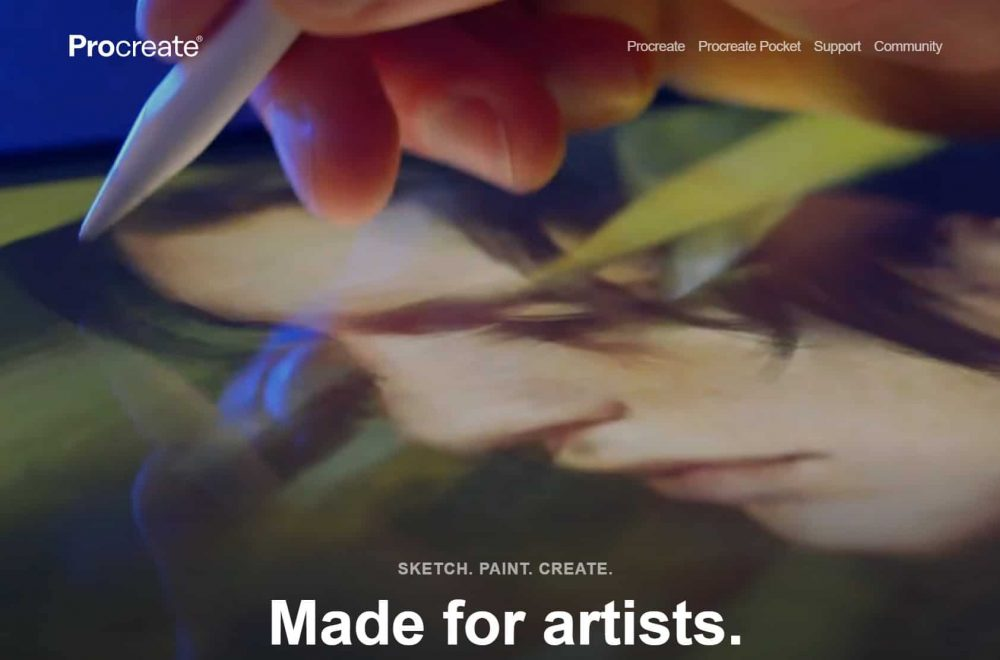free_art_software_for_artists_procreate