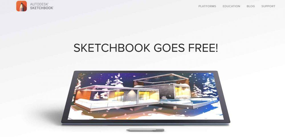 free_art_software_for_artists_sketchbook