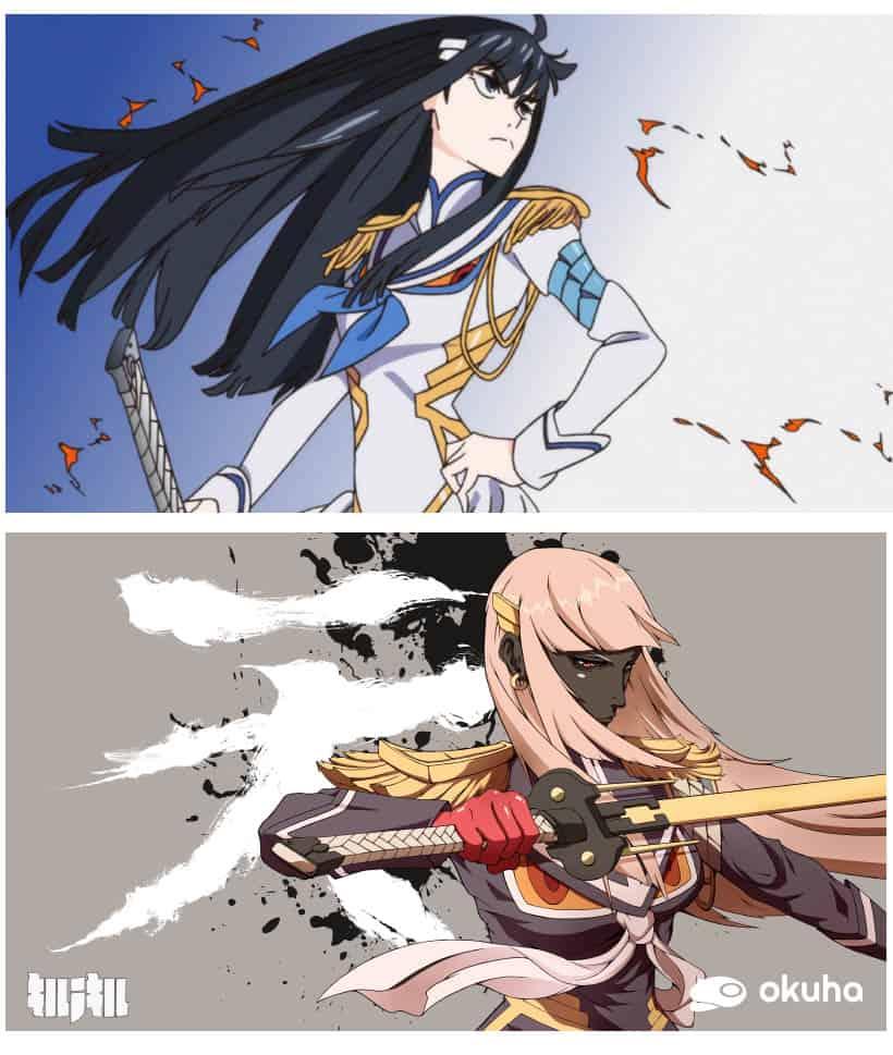 kill_la_kill_satsuki_original_fan_art_2