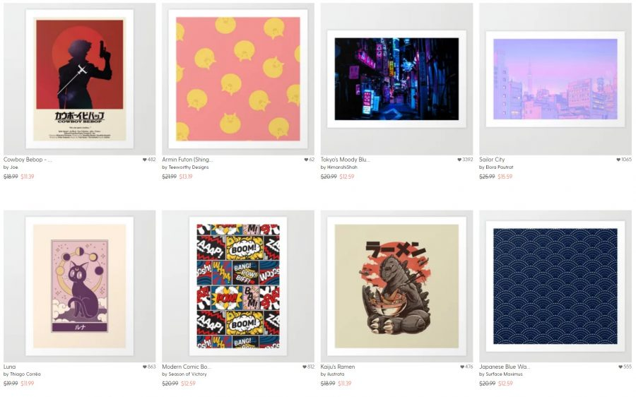 anime_art_prints_society6