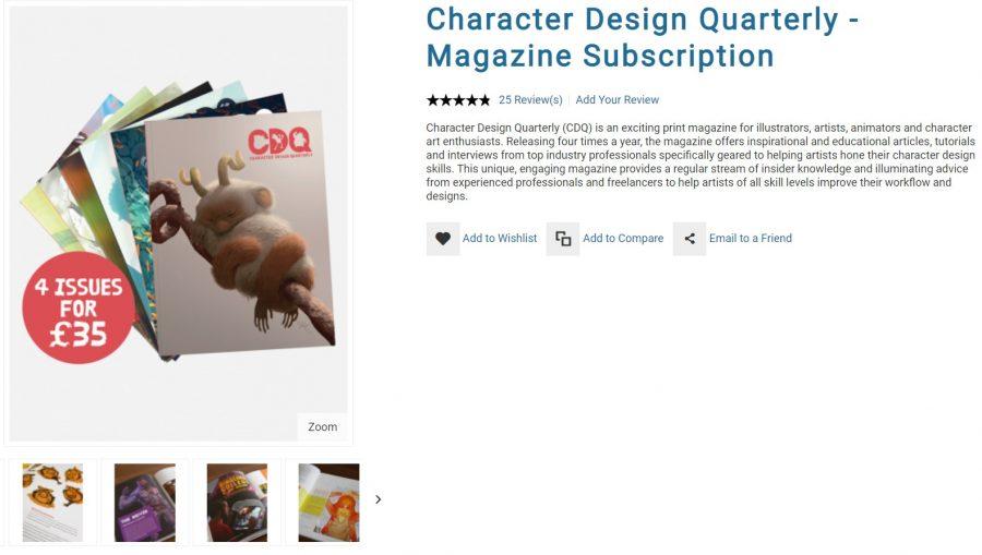 best_digital_art_magazines_character_design_quarterly